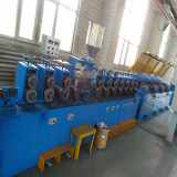 Hardfacing cored welding wire making machines