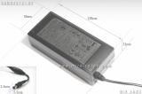 SAD04212-UV 12V 3.5A / SAD04214-UV 14V 3A, 42W SMPS adapter - Energy Star Level V