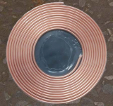 Pancake copper tube coil