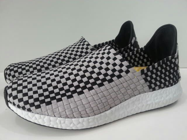 CASUAL WOVEN MENS FLAT SNEAKERS