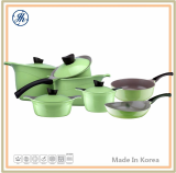 Die Casting Aluminum Premium Ceramic Coated Cookware Set