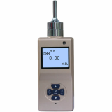 Portable single gas detector with inner pump