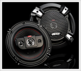 JB.Lab J1615 Car Speakers 6 Inch 4 Way 200W Coaxial Speaker