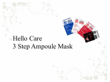 hello care mask pack 3 step