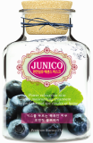 JUNICO Natural Fiber Blue berry Mask Pack
