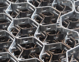 Stainless steel Hexsteel metal mesh