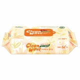 Cleawave basic(wet wipes/wet tissue)-60sheets