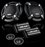 JB.Lab J1715 Car Speakers 6.5 Inch 2 Way 300W Packaged Component Set