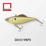 75mm Sinking Artificial Hard Bait Fishing Lure (Zaco VIB 75)