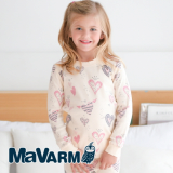 MAVARM Kids clothes_Cream Angel Heart