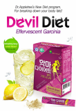 Devil Diet Effervescent Garcinia (Lemon flavor)