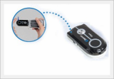 Blood Glucose Test System Connectable To Mobile Phone