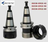 CNC Tool Holders for HSD ISO30 ATC Spindle with Covernut