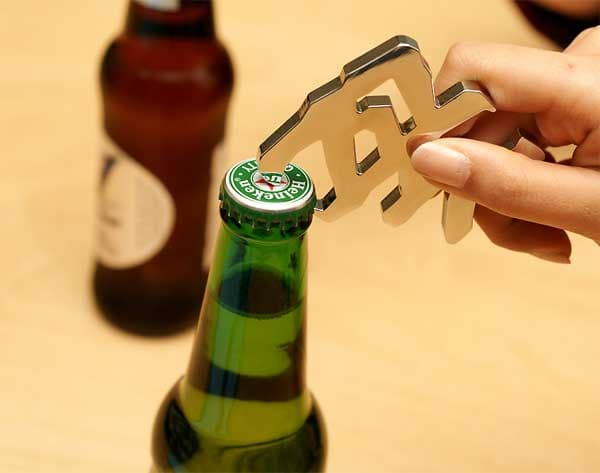 Hangeul Bottle Opener-stainless steel-