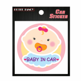 car sticker _ da7013 baby in car