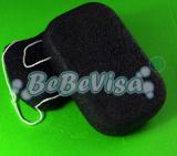 bamboo charcoal konjac sponge-MK916CO