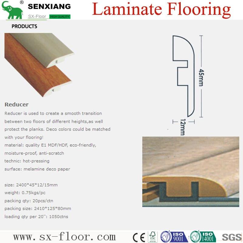 Laminate Flooring Accessories Supplied