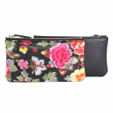 Oriental pouch bag_ Kesylang_ Flower pattern_ Fabric pouch