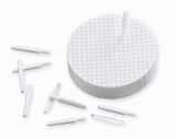 Zirconia Pins with Tray for Laminate