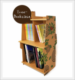 Paper Furniture of Kids -treebookcase-