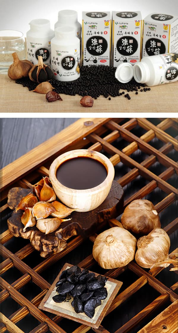 Yigarak Black Garlic Gangsan Black Garlic Pill
