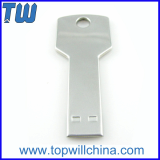 Stainless Smooth Key Usb Flash Drives 2GB 4GB 8GB 16GB 32GB