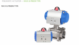 Pneumatic Actuator - Rack & Pinion Type