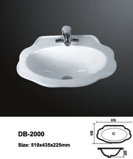 Drop_in hand basin