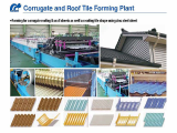 Corrugate and Roof Tile Forming Plant