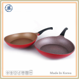 Cast Aluminum Real Stone Coating Frypan