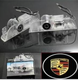 Porsche LED Logo Laser Door Lights No Drill
