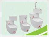 Men's Urinal Rotatable with Integrated Toilet 2