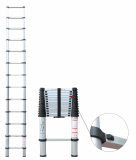 telescopic ladder 3.8m time by time folding ladder