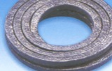 LUBRICATED GRAPHITE FIBER PACKING