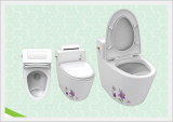 Women's Feces and Urine Separate Toilet