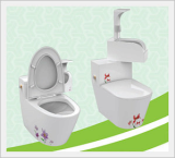 Men's and Women's Feces and Urine Separate Toilet