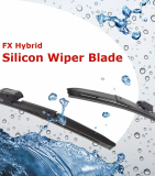 Hybrid Silicon Water Repellant Wiper Blade