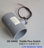 GE-340 PVC Paddle Flow Switches