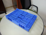 foldable plastic crate