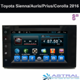 Toyota In Dash Infotainment System 12 inch Land Cruiser 2016