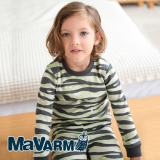 MAVARM Kids clothes_Green Zebra