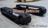 Steel track undercarriage (OEM) for drill rig