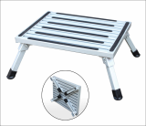 Aluminum step ladder car washing stool