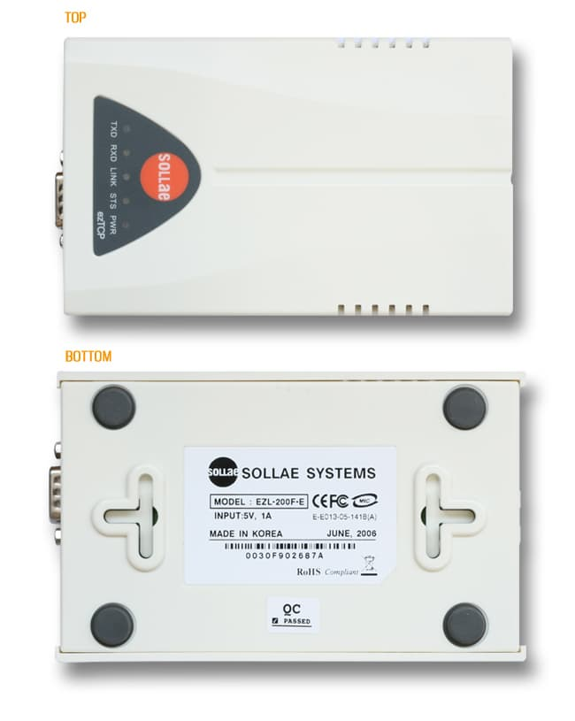 EZL-200F- Serial to Ethernet Converter