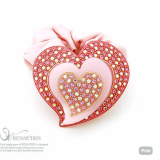 Heart in Heart ponytail holder