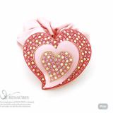 Heart in Heart ponytail holder