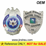 Custom High Quality Metal Military Police Badge