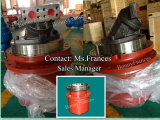 Planetary travel  motor reducer gearbox