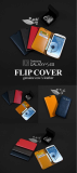 Flip Cover (iphone 5/5s, Galaxy s3, s4, note2