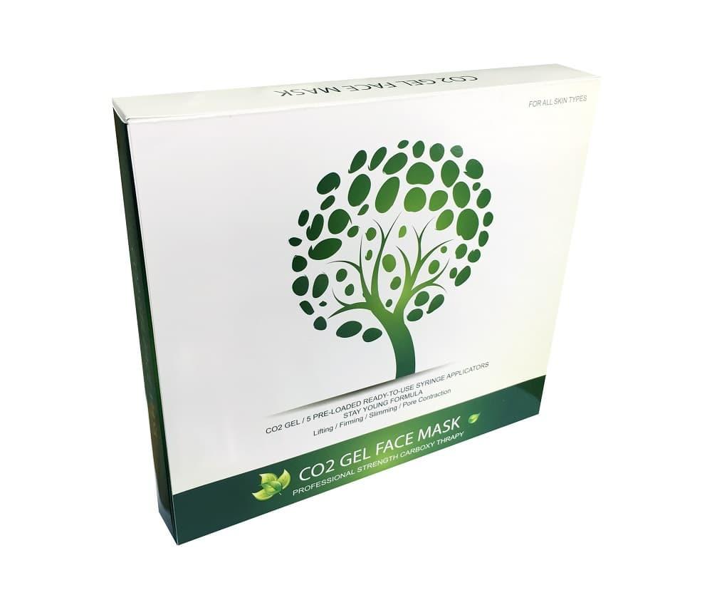Co2 gel  mask for elasticity, moisturising